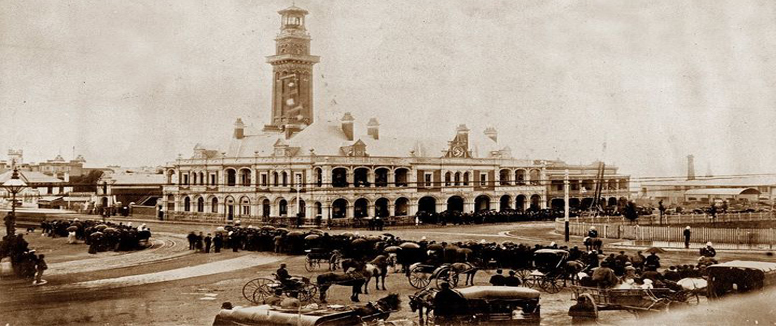 The opening of the MFB headquarters in 1893